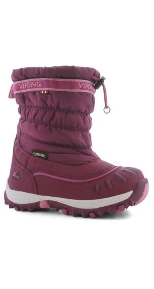 Viking Windchill GTX Boots Kids Plum/Dark Pink